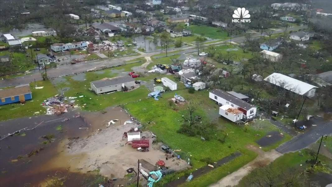 Hurricane Harvey Clean Up Services Downed Fences Damaged